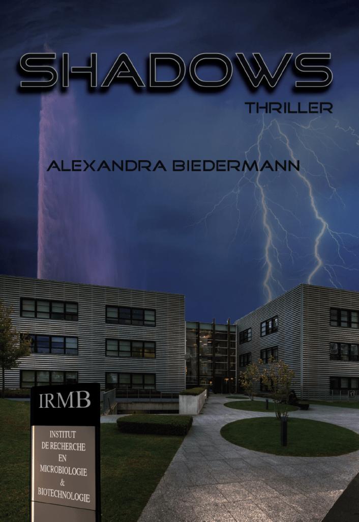 Couverture du thriller Shadows ayant reçu plusieurs chroniques positives!