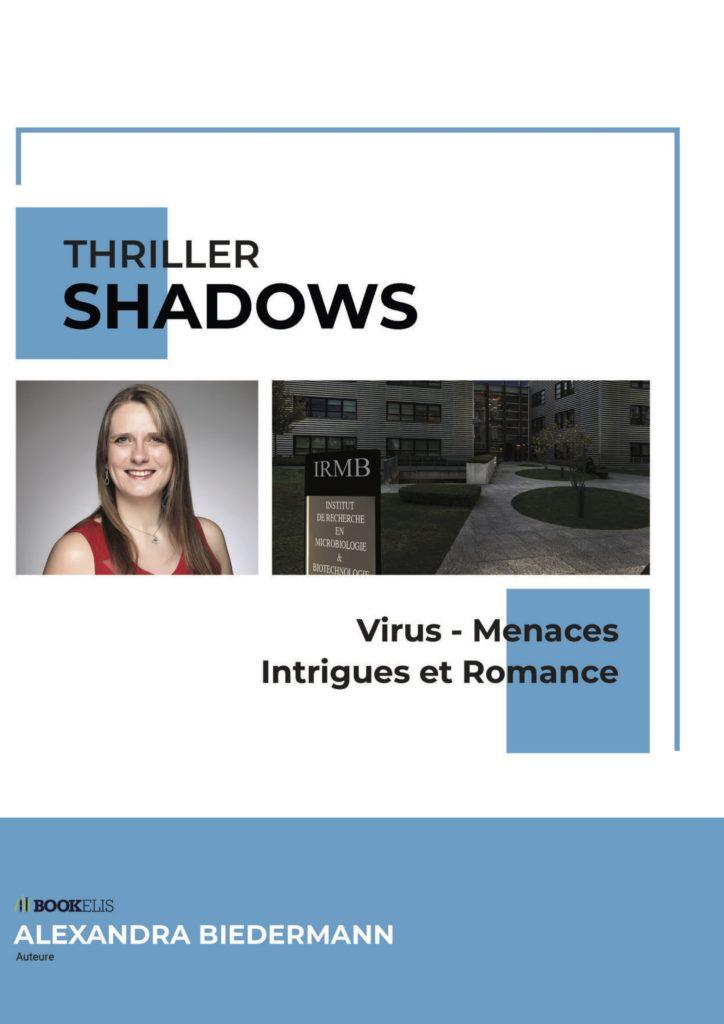 Image de couverture du Dossier de presse, outils indispensable à la promotion de Shadows.